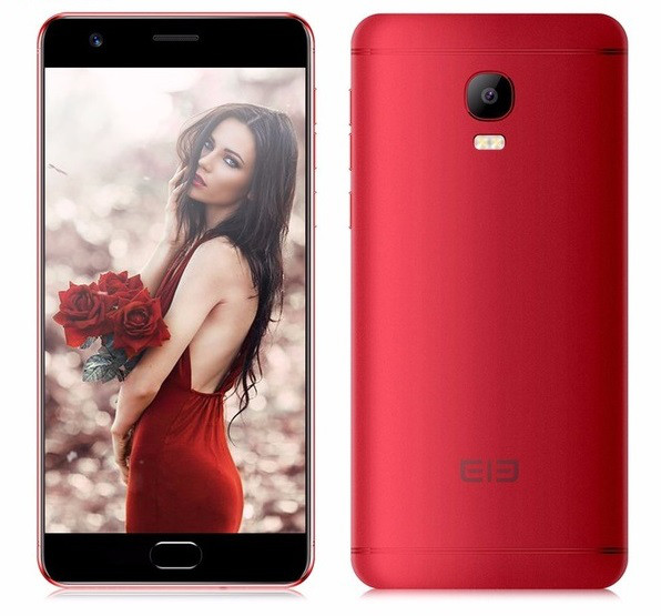 "Смартфон Elephone P8 max 4/64Gb Red, 16/5Мп, 5,5"" IPS, 5000mAh, 2sim, MT6750T, 8 ядер, 4G (LTE)"