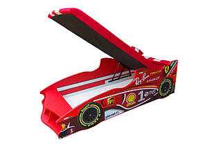 Кровать-машинка Формула 1 (80х180 см), фото 3