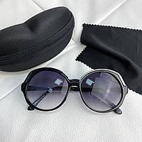 Очки Miu Miu Sunglasses Round 18711 Black
