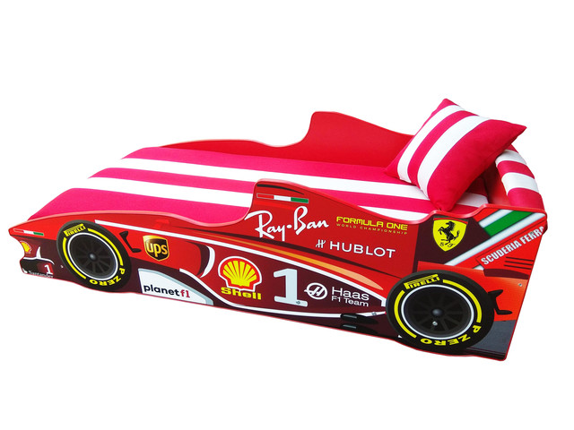 Кровать детская машинка серии Формула 1 (фото 3)