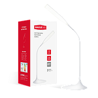 LED светильник MAXUS DKL 6W 4100K WH яркий свет