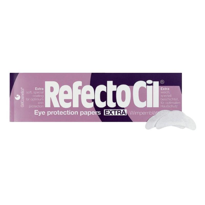 Защитные патчи под глаза для окрашивания бровей и ресниц RefectoCil экстра-мягкие