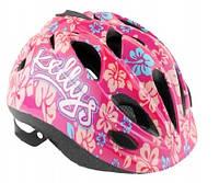 Велошлем детский Kellys Buggie Пурпурный цветок, фото 1