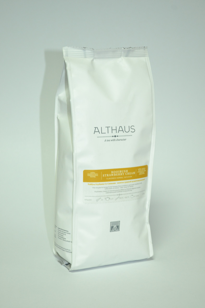 Чай Althaus Rooibush Strawberry Cream 250г(6)