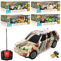 Машина 2-501A-2А радіокерована, на акумуляторі, 1:18, 2 види, мікс кольорів, світло, в коробці, 30см