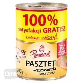 Паштет свинячий Papamol Польща 390г