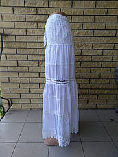 Юбка-сарафан летняя в пол коттоновая MEILING, фото 2