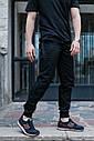 Штаны джоггеры мужские черные от бренда ТУР  Мэд Макс (Mad Max) размер XL, XXL, фото 6
