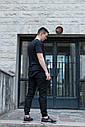 Штаны джоггеры мужские черные от бренда ТУР  Мэд Макс (Mad Max) размер XL, XXL, фото 8