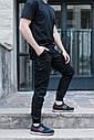 Штаны джоггеры мужские черные от бренда ТУР  Мэд Макс (Mad Max) размер XL, XXL, фото 7