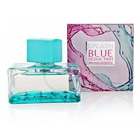 Женская туалетная вода Antonio Banderas Splash Blue Seduction (Антонио Бандерас Сплэш Блу Седакшн) 100 ml
