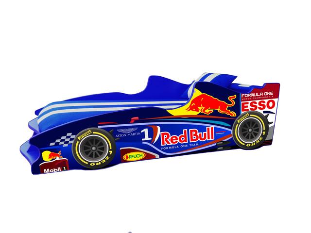 Кровать детская машинка серии Формула 1 (F2)