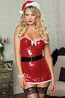 Новогодний костюм Подружка Санты L7227