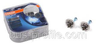 Автолампа H7 12V 55W PX26d Cool Blue Intense +20% (Xenon Look) 4200K (К-кт 2 шт.) — Osram— 64210 CBI HCB DUO