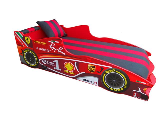 Кровать детская машинка серии Формула 1 (фото 4)