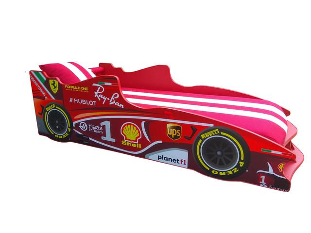 Кровать детская машинка серии Формула 1 (фото 5)