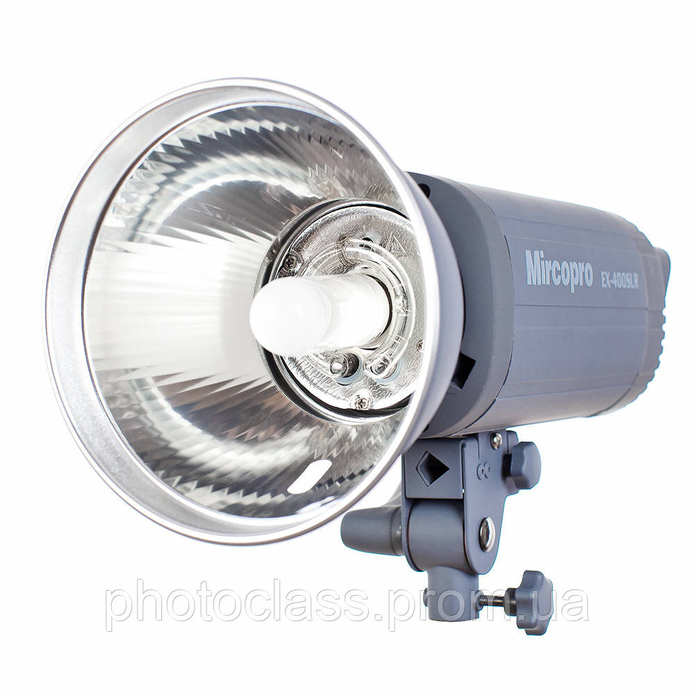 Студийный свет Mircopro EX-400SLR (400Дж) с рефлектором