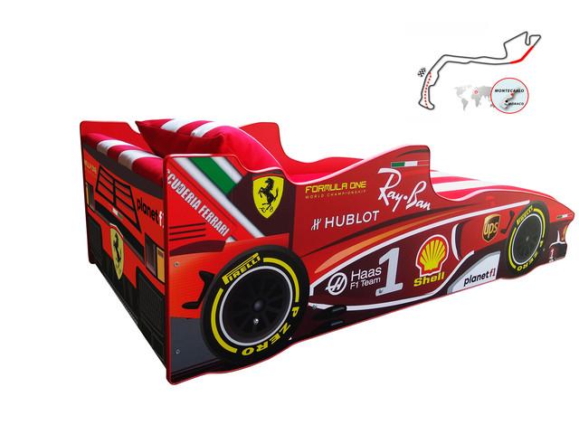 Кровать детская машинка серии Формула 1 (фото 13)