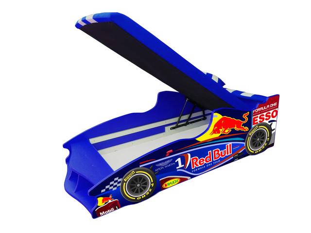 Кровать детская машинка серии Формула 1 (F2) (фото 2)