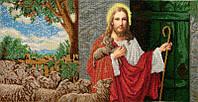 ІСД. Схема для вишивки бісером Ісус стукає у двері.