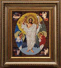 ВХ. Схема для вишивки бісером Воскресіння Христове.