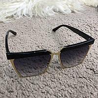 Очки Dior Sunglasses Timeless Pieces 18735 Black-Gold 01c5df9e769
