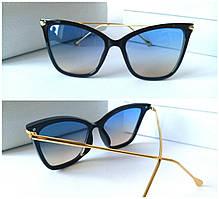 Женские очки Dita прозрачная линза градиент