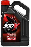 Масло в двигатель Motul 300V 4T Factory Line Road Racing 15W50, 4л