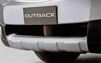 Накладка бампера переднего аксессуар Outback B14 Оригинал 09-14(E555EAJ020)