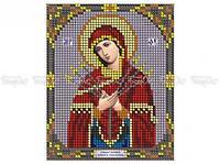 ЧВ-1014 Схема для вышивки бисером Пресвятая Богородица Умягчение злых сердец.