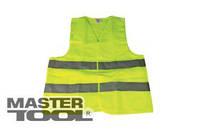 MasterTool  Жилет со светоотражающей лентой лимонный, Арт.: 83-0001