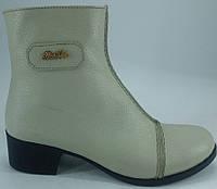 """Ботинки демисезонные из натуральной кожи на каблучке от производителя модель """"БЛ - 01В"""""""
