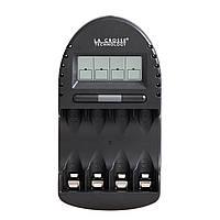 Интеллектуальное зарядное устройство для аккумуляторов AA/AAA La Crosse BC-500, фото 1