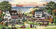 Набор для вышивания крестом Уютное укрытие/Cozy Cove DIMENSIONS 70-03896