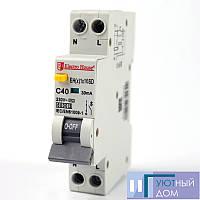 ДИФ Автомат 16А 1P+N(1 модуль) 6kA EH(x) 1x16SD