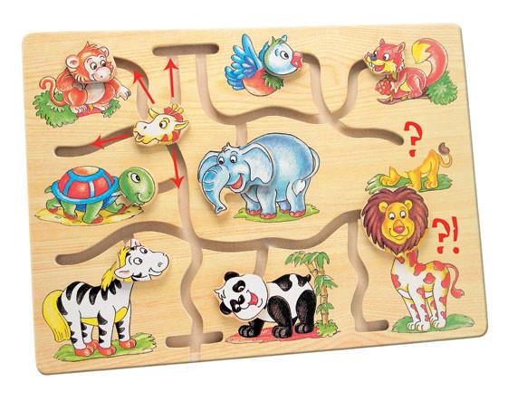 Игра Подбери головы животным Африка Bino (88096)