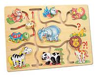Игра Bino - Подбери головы животным Африка