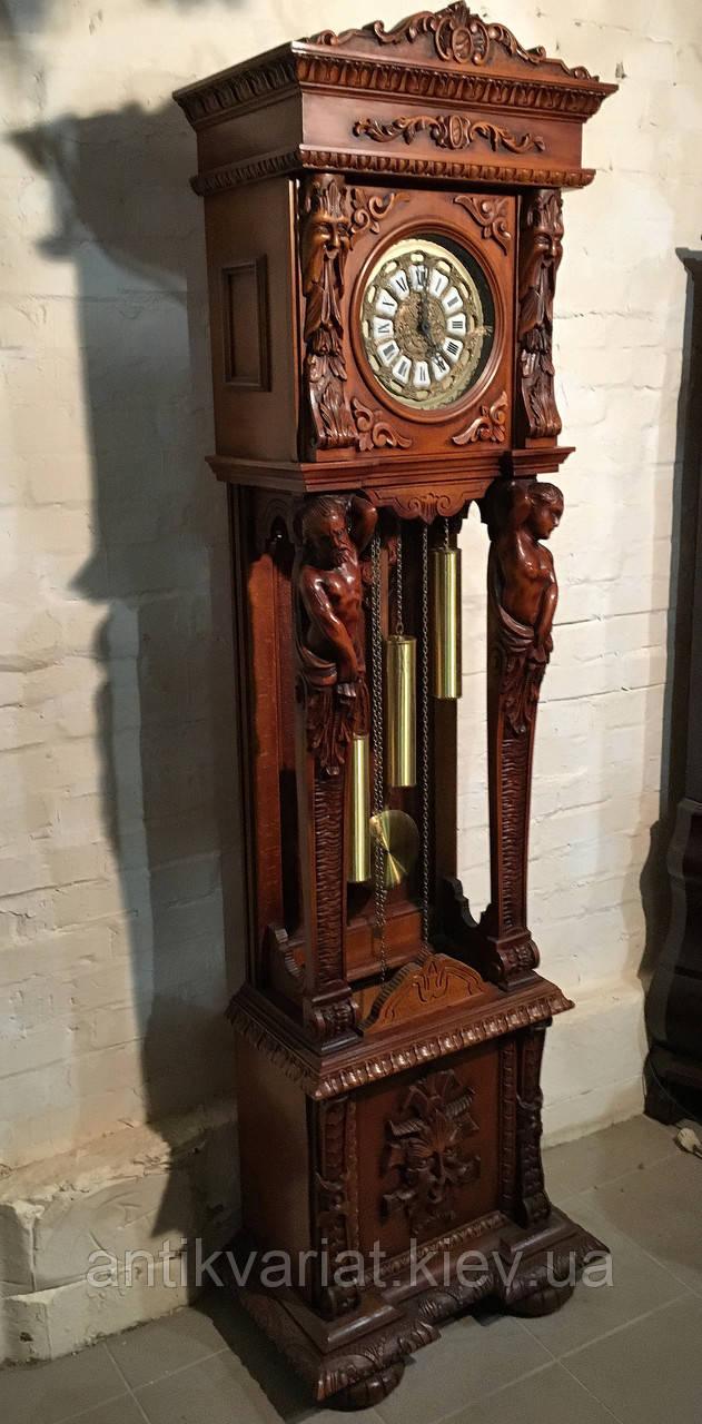 efe970bb Антикварные напольные часы из дерева и бронзы часы годинник часы настенные  часы, цена 7 000 $, купить в Киеве — Prom.ua (ID#733354875)