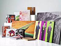Печать фото на холсте с галерейной натяжкой на подрамник 25х25