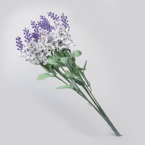 Искусственный букет белой  лаванды., фото 2