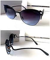 Женские очки Roberto Cavalli черные с красивыми дужками