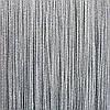 Шторы нити Люрекс серые с серебром