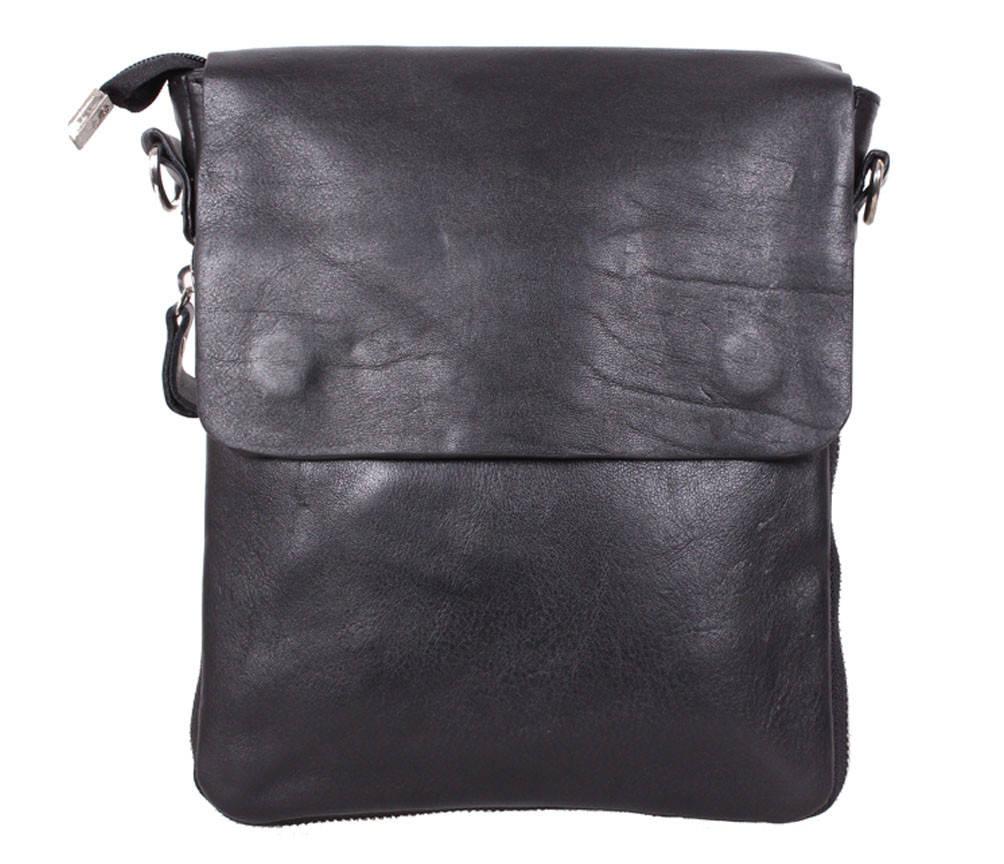 7e6949fa4617 Стильная сумка черного цвета из натуральной кожи  продажа, цена в ...