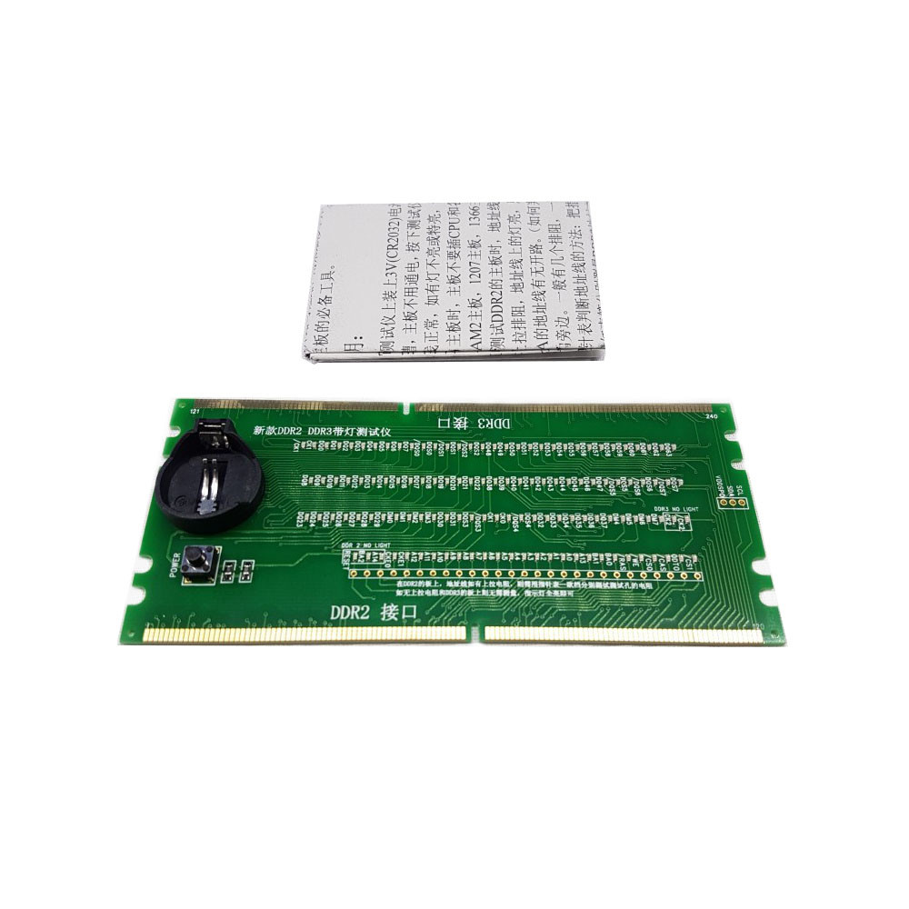 DDR2 DDR3 тестер слота, диагностика материнской платы