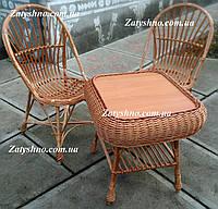 Набор мебель плетеный