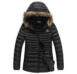 Куртка женская осенняя Adidas / CRT-569 (Реплика)