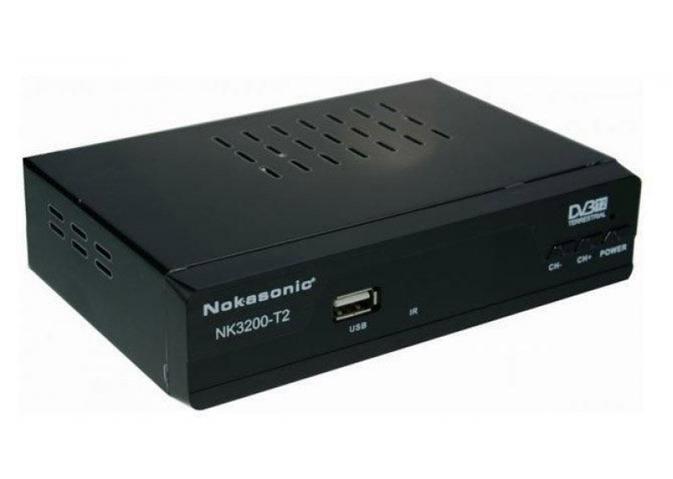 Цифровой тюнер Nokasonic NK 3200-T2 \ ресивер \ приставка