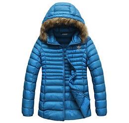 Куртка женская осенняя Adidas / CRT-571 (Реплика)
