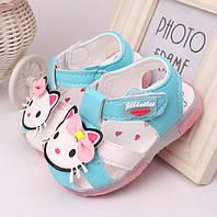 Обувь для девочек лето