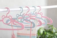 Детские вешалки babyhood, розовые